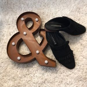 Suede Steven by Steve Madden Mules